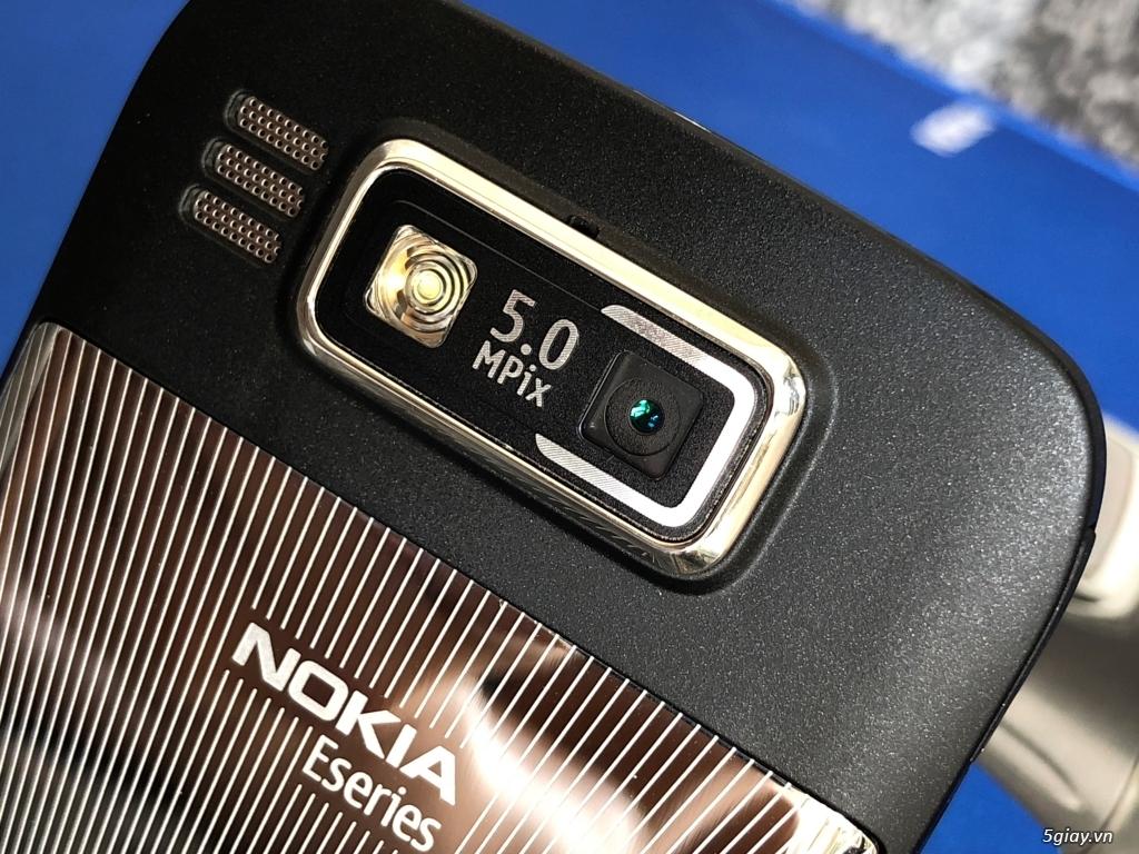 Siêu phẩm Nokia E72 Zodium black navi Box lớn Brandnew ship UK - 26