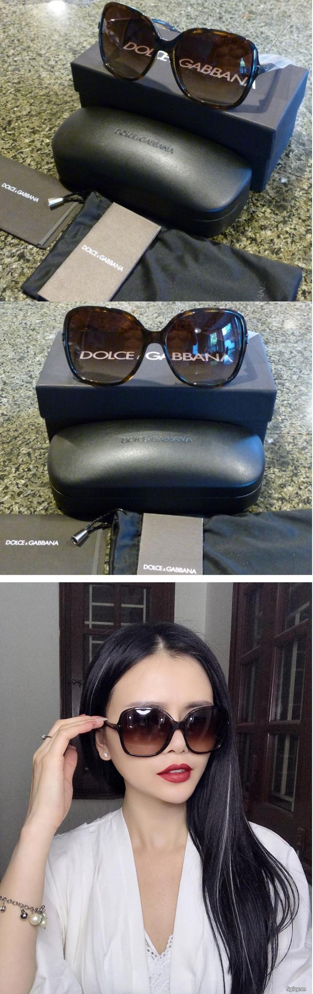 Những Mắt Kính Đẹp & Sang Trọng chính mình xách tay/gửi từ Mỹ về.  Armani, D&G, Prada, Ray-Ban, Polo - 1