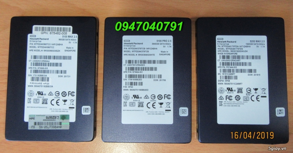 Micron Enterprise SSD 960GB 1920GB 3840GB 7680GB 2.5 7mm SATA 6Gbps - 1