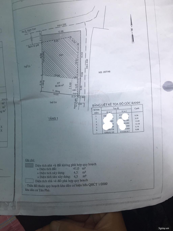 Bán nhà cấp 4 Đường Nam Cao Tân Phú Quận 9 Sổ Riêng LH : 0909359194 - 3