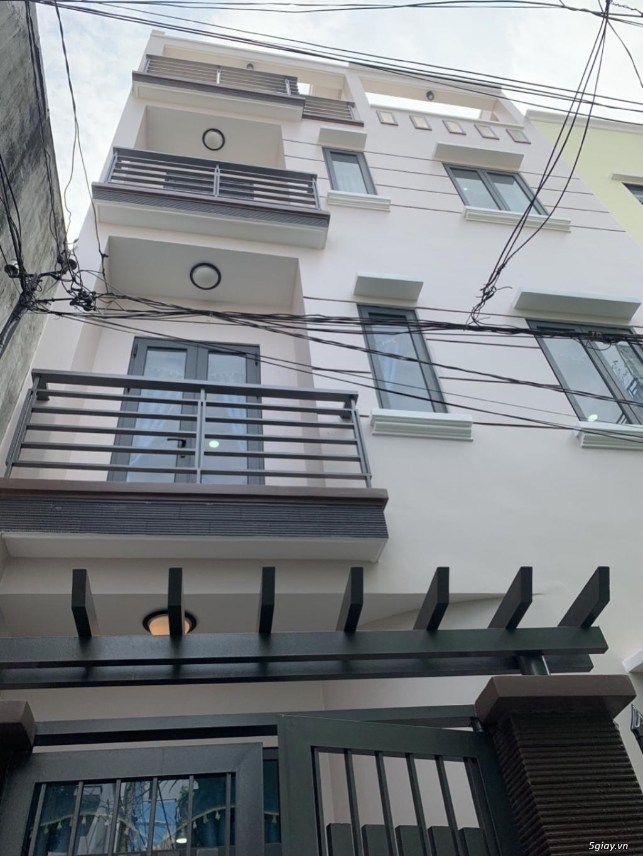Nhà đúc 3 lầu mới 100% vị trí đẹp Ngay chợ Gò Vấp - 4