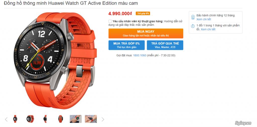 Đồng hồ Huawei Watch GT và Loa Harman Kardon Onyx 3 - 1
