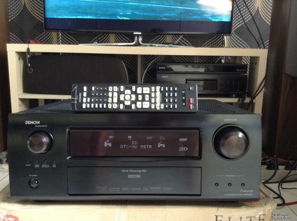 Receiver và ampli (nghe nhạc & xem phim-3D-dtsHD-trueHD-HDMA)loa-center-sub-surround. - 6