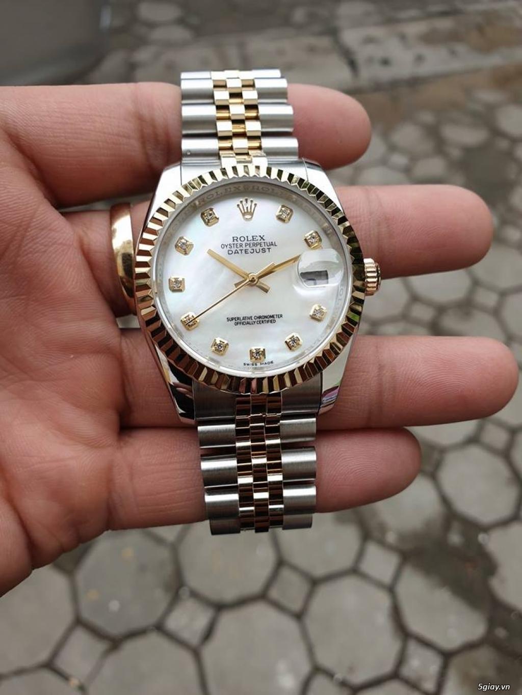 Chuyên Rolex bọc vàng 18k,độ máy chính hãng,kim cương
