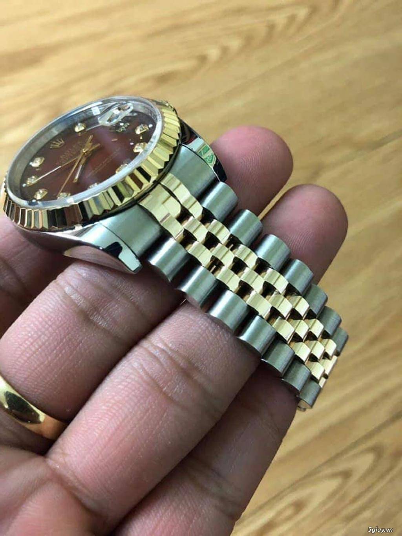 Chuyên Rolex bọc vàng 18k,độ máy chính hãng,kim cương - 42