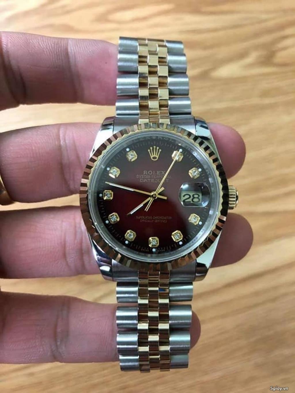Chuyên Rolex bọc vàng 18k,độ máy chính hãng,kim cương - 41