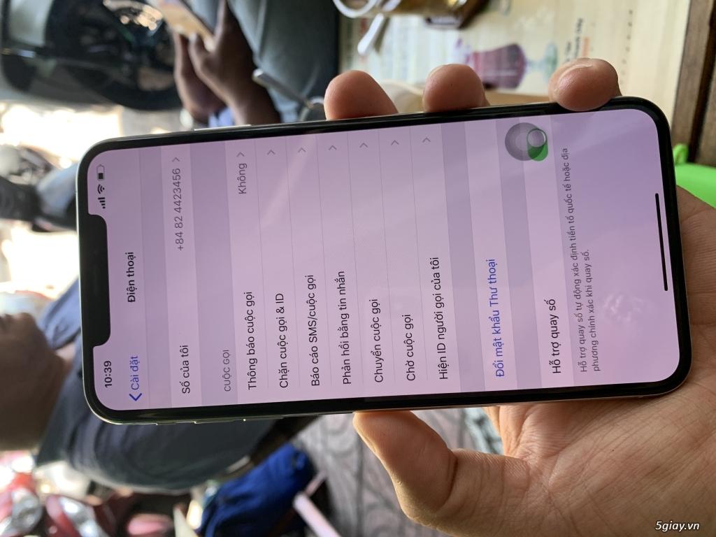 Iphone xs Max 64Gb lock đẹp 99% - 1