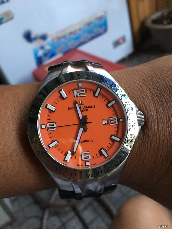 đồng hồ JACQUES LEMANS AUTOMATIC G-218 - 2