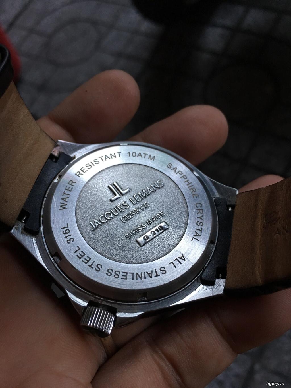 đồng hồ JACQUES LEMANS AUTOMATIC G-218 - 1