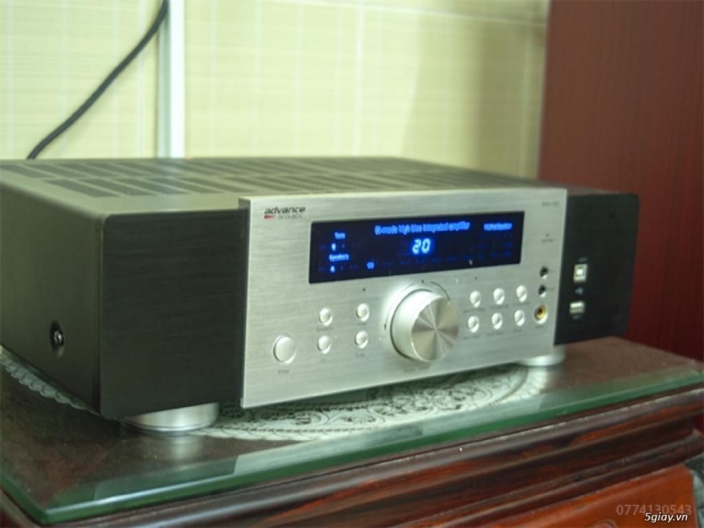 Bán dàn hifi: amply Advance MAX 250 + loa KEF Q500 - 1