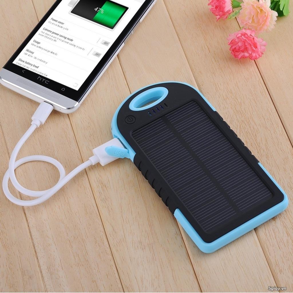 Sạc pin dự phòng năng lượng mặt trời - 1