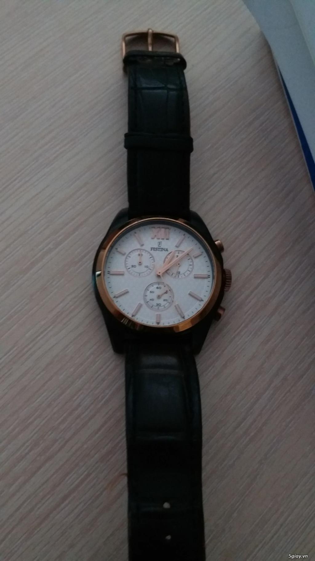 Cần bán đồng hồ Tây ban Nha Festina F16861,chính hãng - 4
