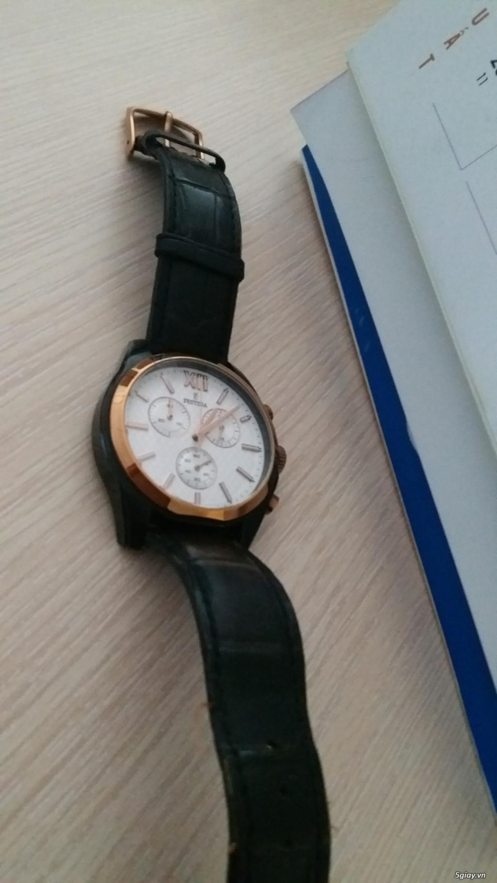 Cần bán đồng hồ Tây ban Nha Festina F16861,chính hãng - 2