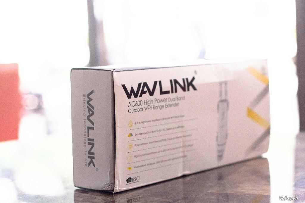 Cần bán: Bộ thu phát wifi WAVLINK AC600