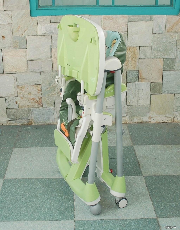 Xe 3 bánh - Ghế nôi đa năng Combi - Aprica - Baby Trend - 48