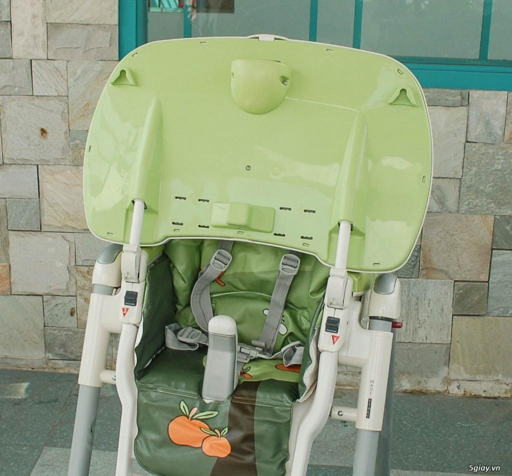 Xe 3 bánh - Ghế nôi đa năng Combi - Aprica - Baby Trend - 45