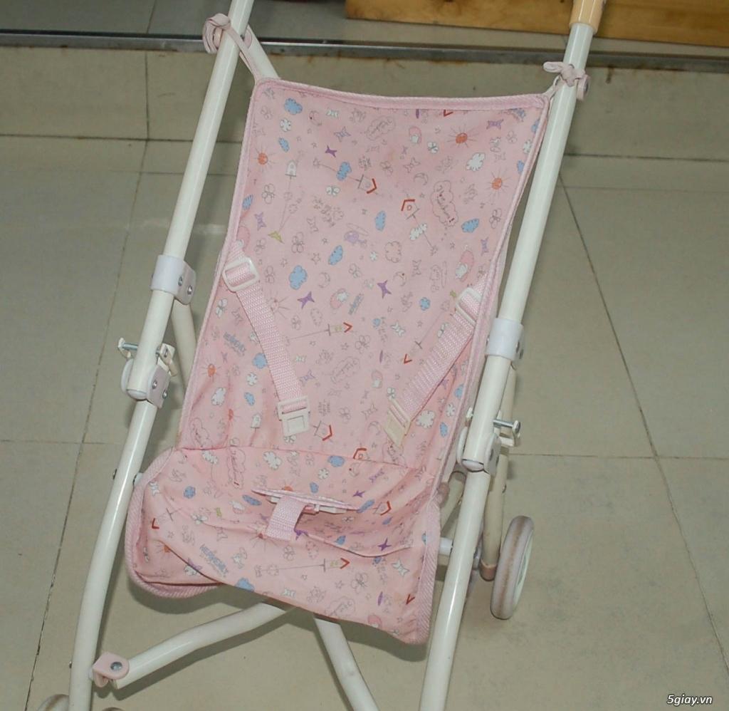 Xe 3 bánh - Ghế nôi đa năng Combi - Aprica - Baby Trend - 20