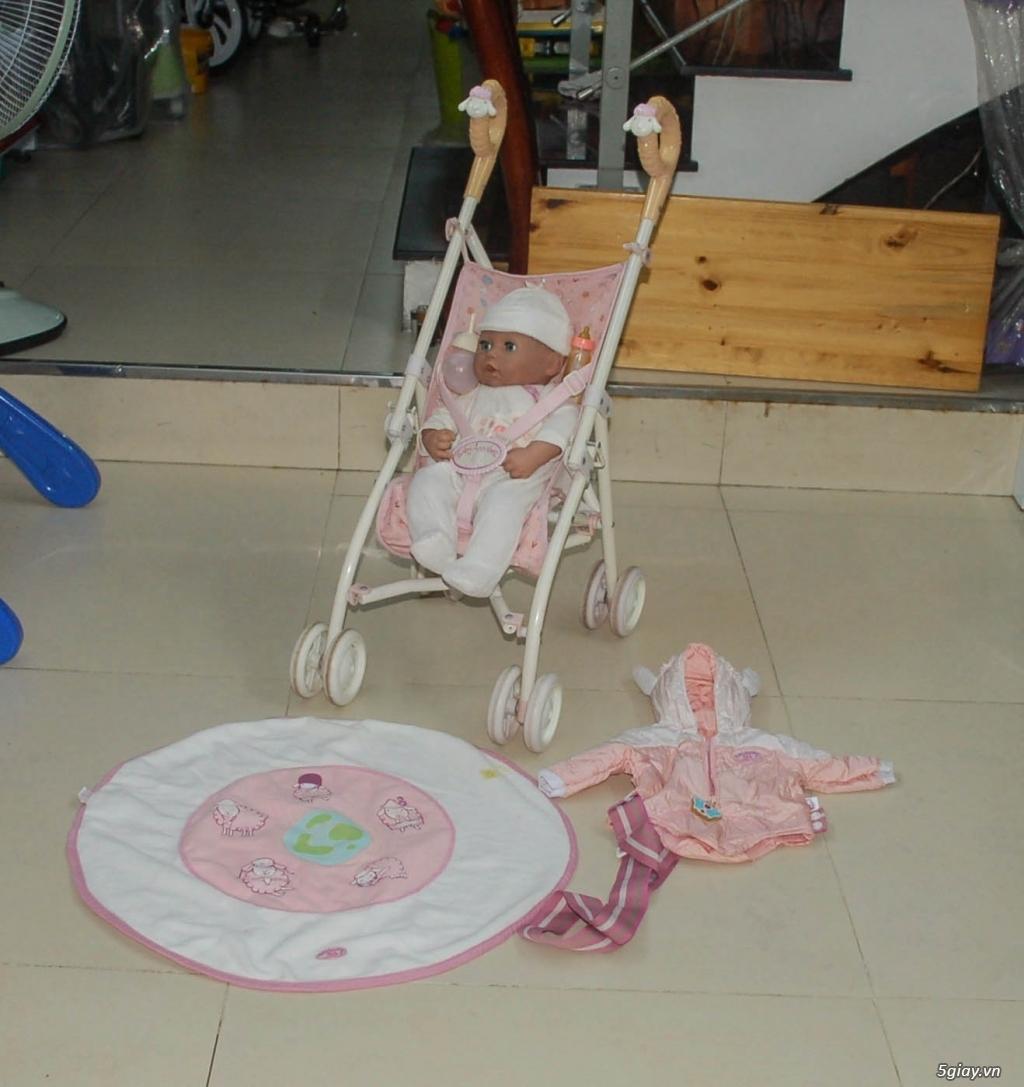 Xe 3 bánh - Ghế nôi đa năng Combi - Aprica - Baby Trend - 12