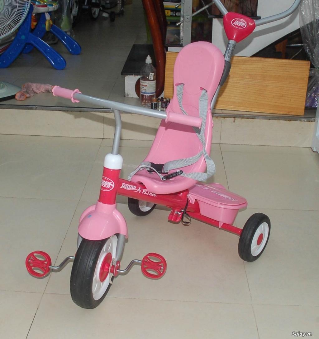 Xe 3 bánh - Ghế nôi đa năng Combi - Aprica - Baby Trend - 1
