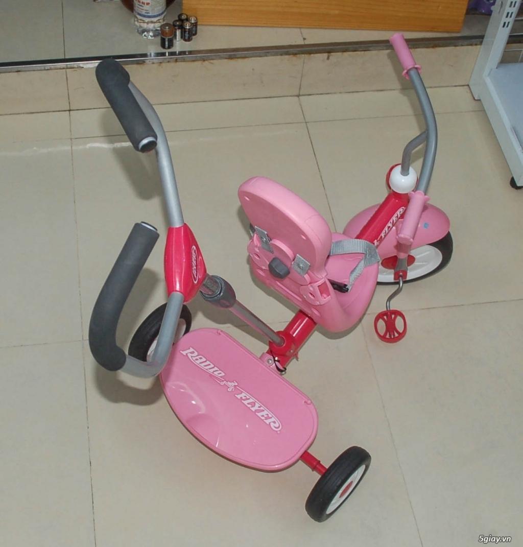 Xe 3 bánh - Ghế nôi đa năng Combi - Aprica - Baby Trend - 2