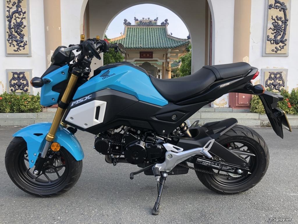 Cần bán Honda Msx 125 màu xanh đời 2019 mới đi 1000km - 2