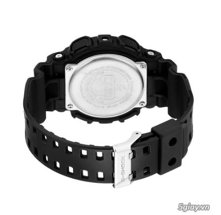 Đồng hồ nam dây nhựa g-shock GA-100CB-1ADR chính hãng