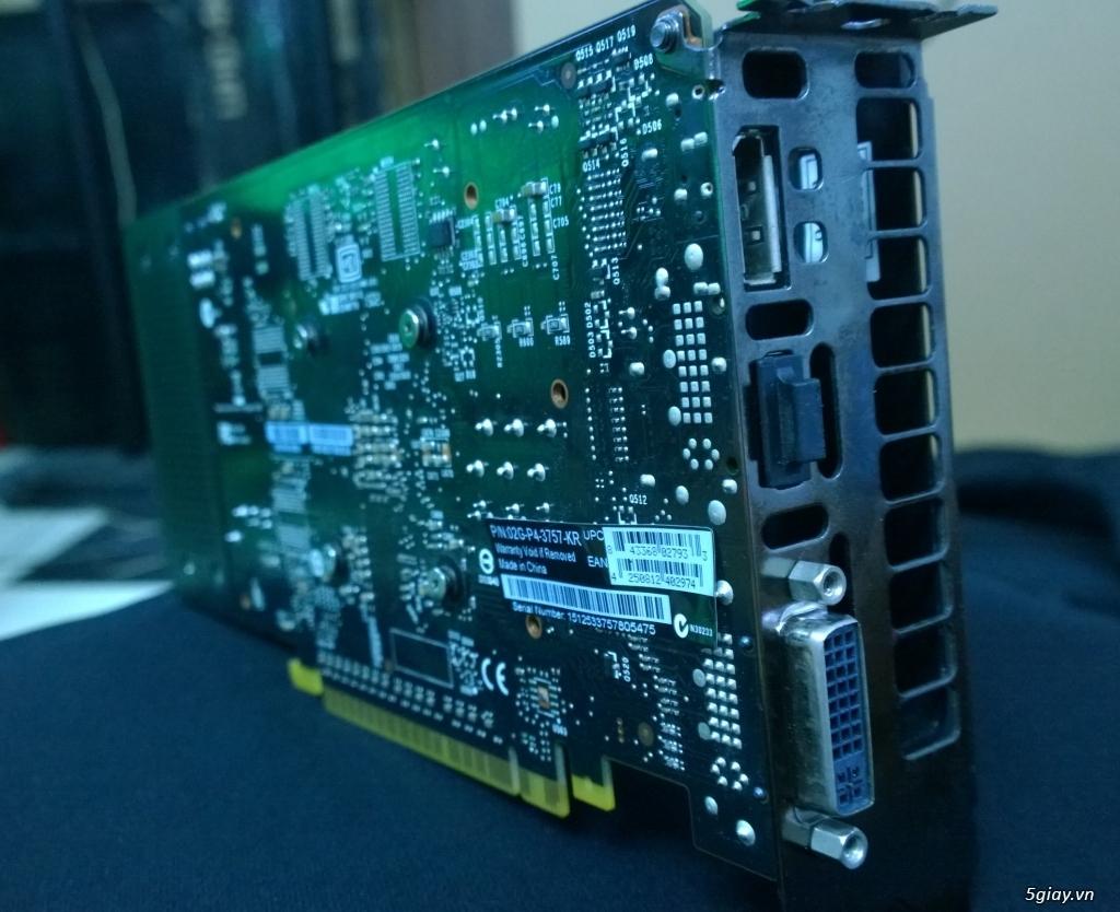 [SG] EVGA GeForce GTX 750 Ti FTW ACX Cooling (hàng dùng cá nhân) - 4