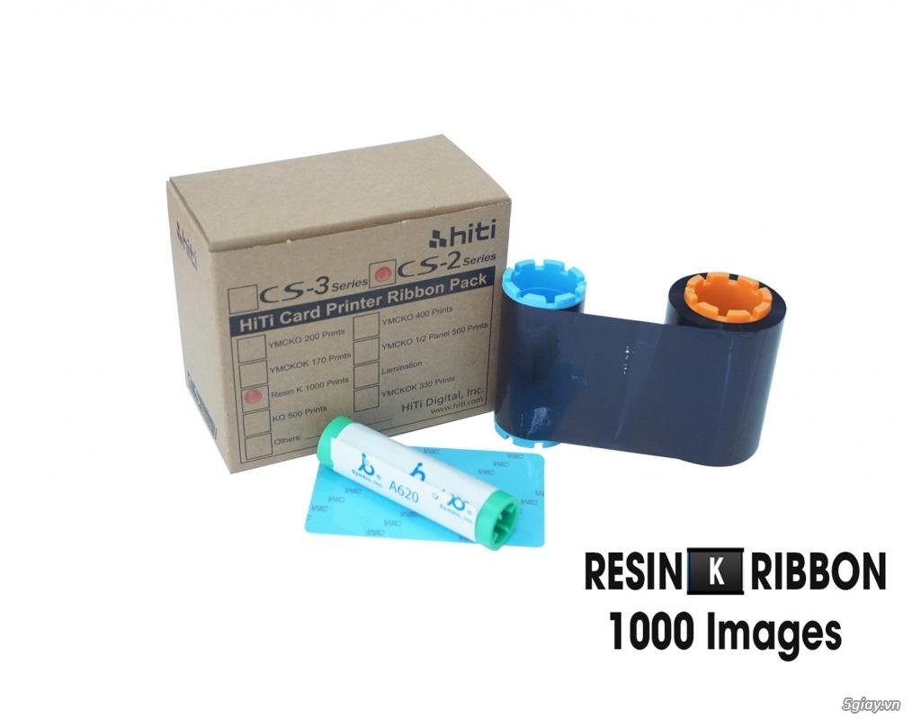 Mực In - Ruy Băng mực in máy in thẻ nhựa - 1