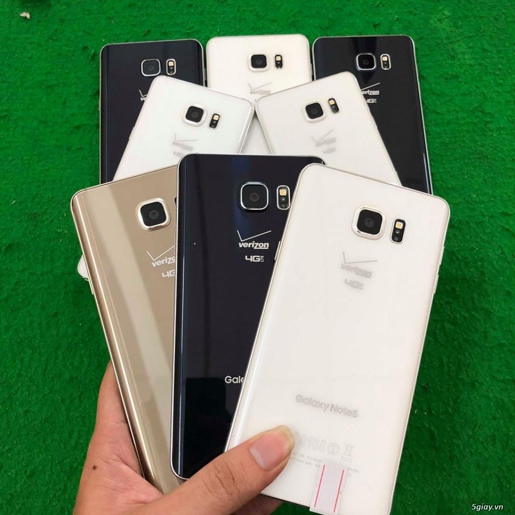 Samsung Galaxy Note 5 đẹp 98-99%
