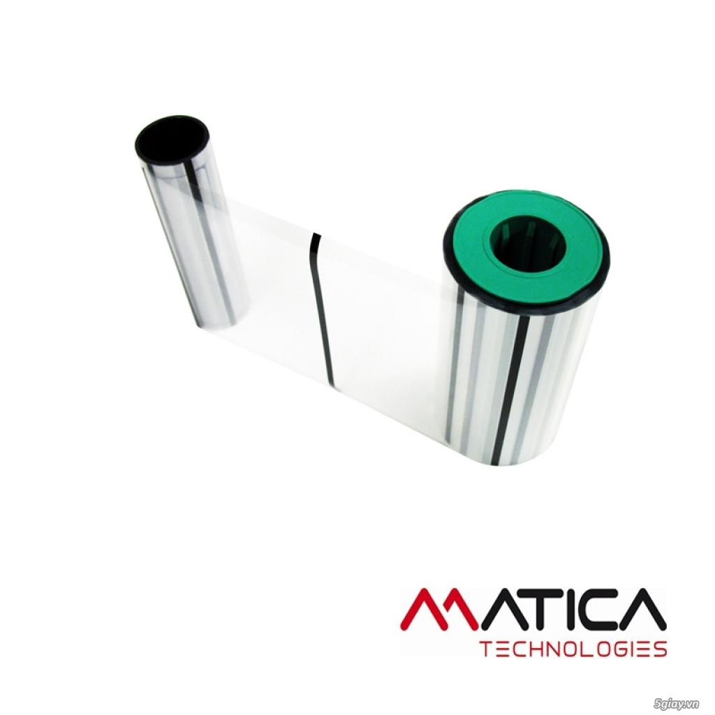 Mực In - Ruy Băng mực in máy in thẻ nhựa - 5
