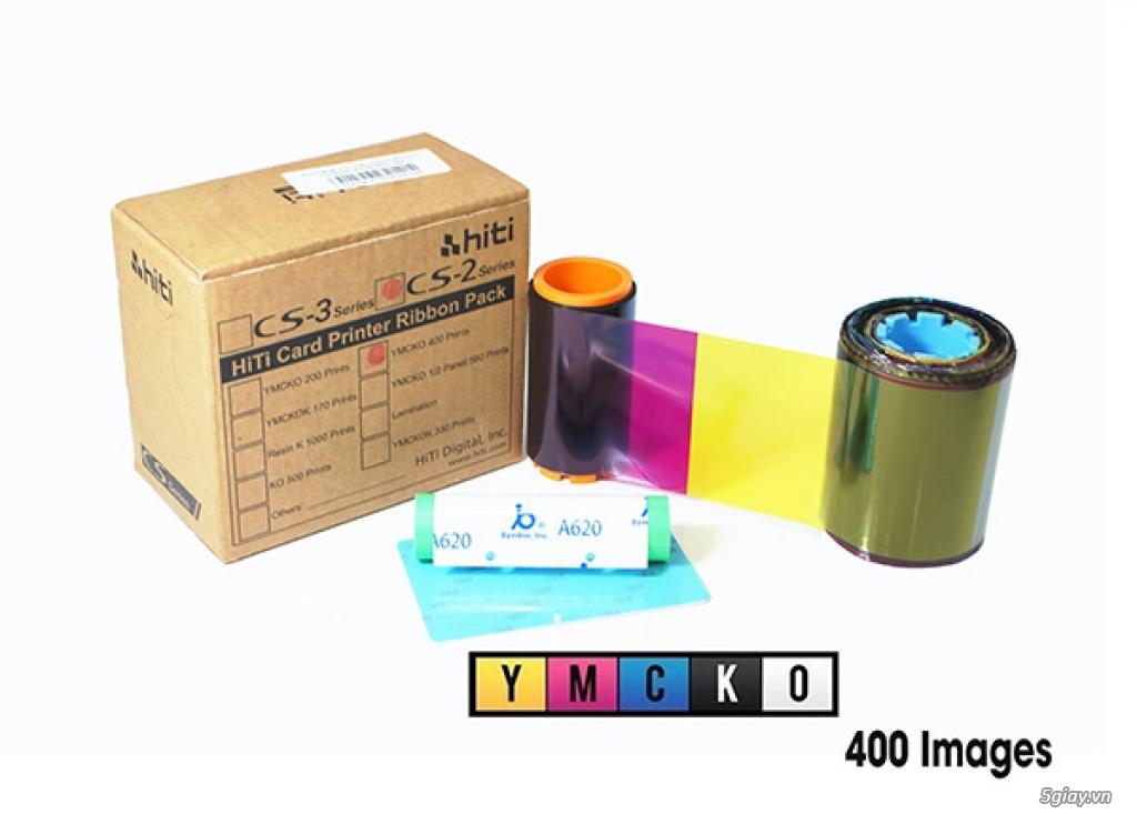 Mực In - Ruy Băng mực in máy in thẻ nhựa