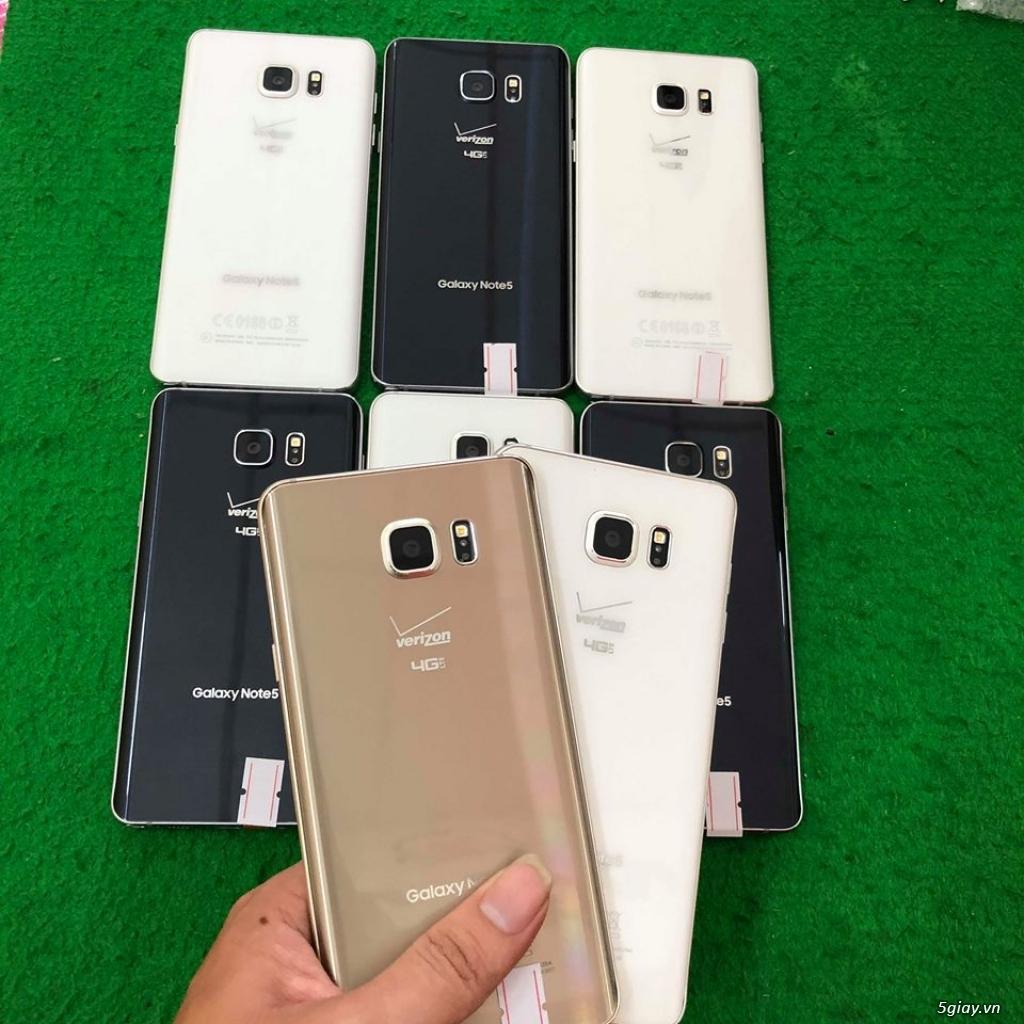 Samsung Galaxy Note 5 đẹp 98-99% - 2