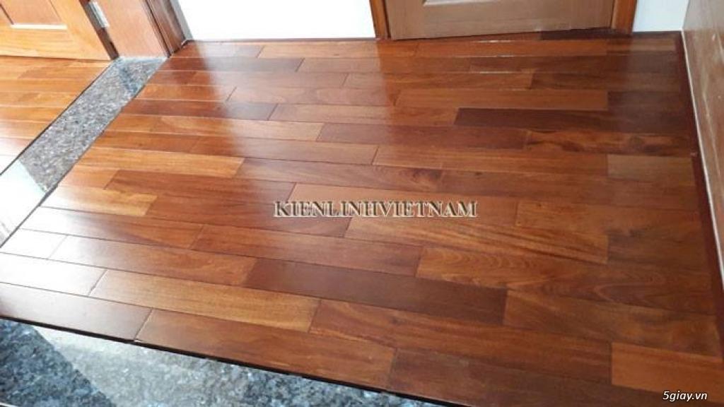 Sàn gỗ căm xe chất lượng tốt, chuẩn căm xe Lào - 3