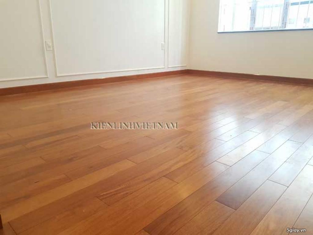 Sàn gỗ căm xe chất lượng tốt, chuẩn căm xe Lào - 4