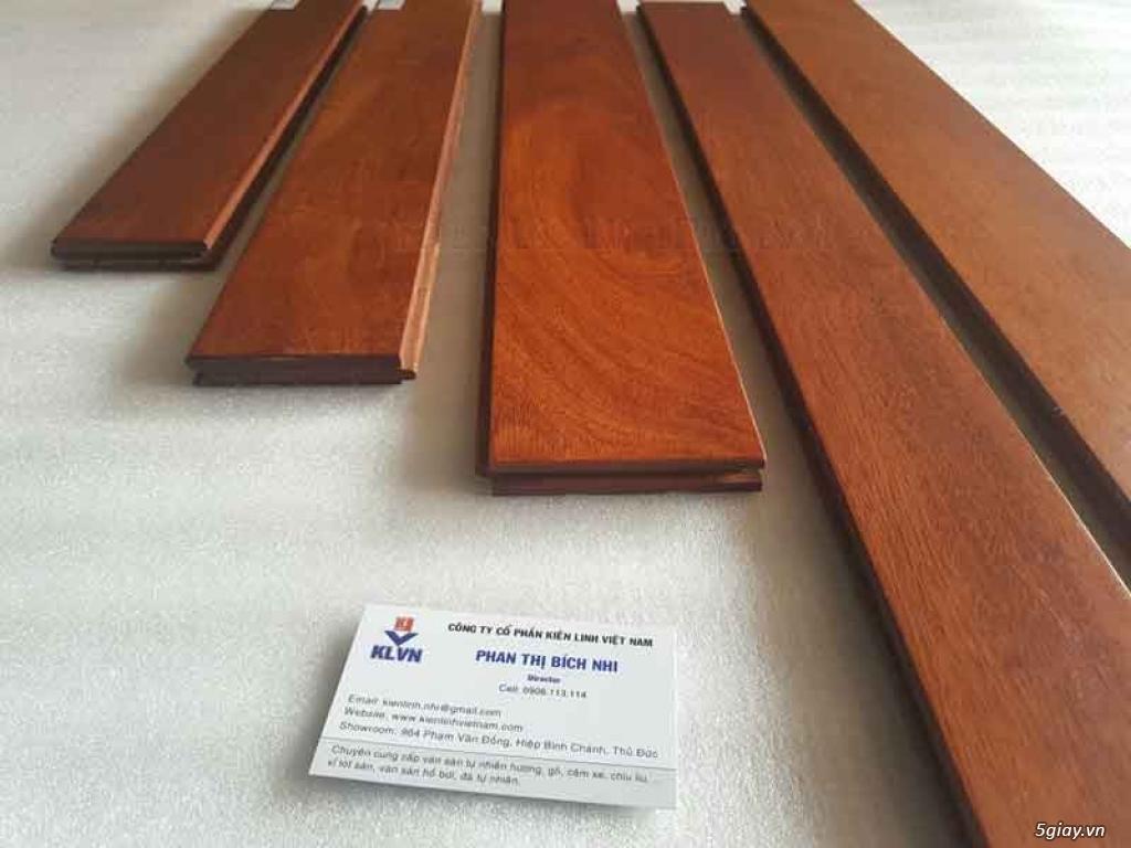 Sàn gỗ căm xe chất lượng tốt, chuẩn căm xe Lào - 1