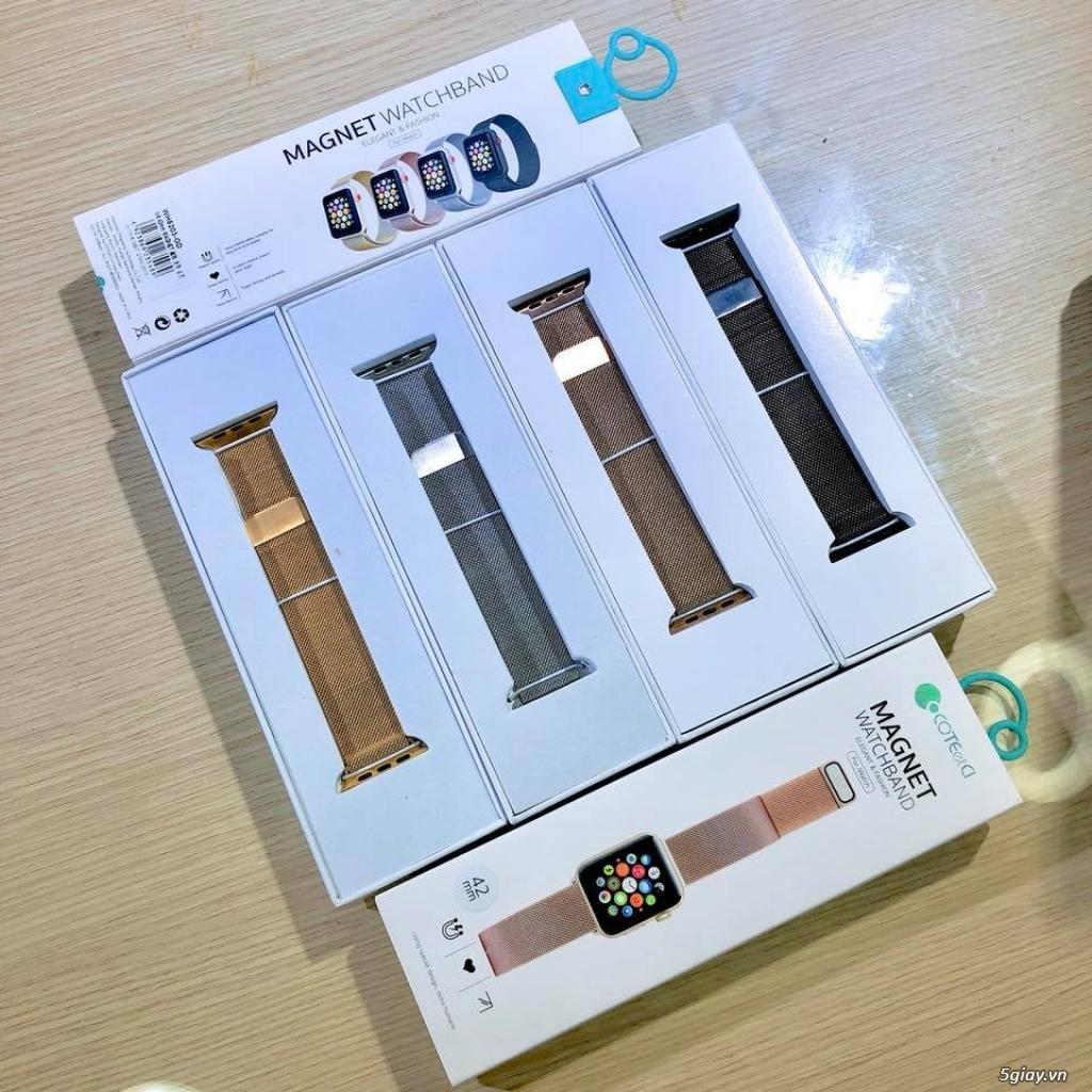 Dây đeo,miếng dán mh,case nhựa,dock sạc Apple Watch 0937912488 - 2