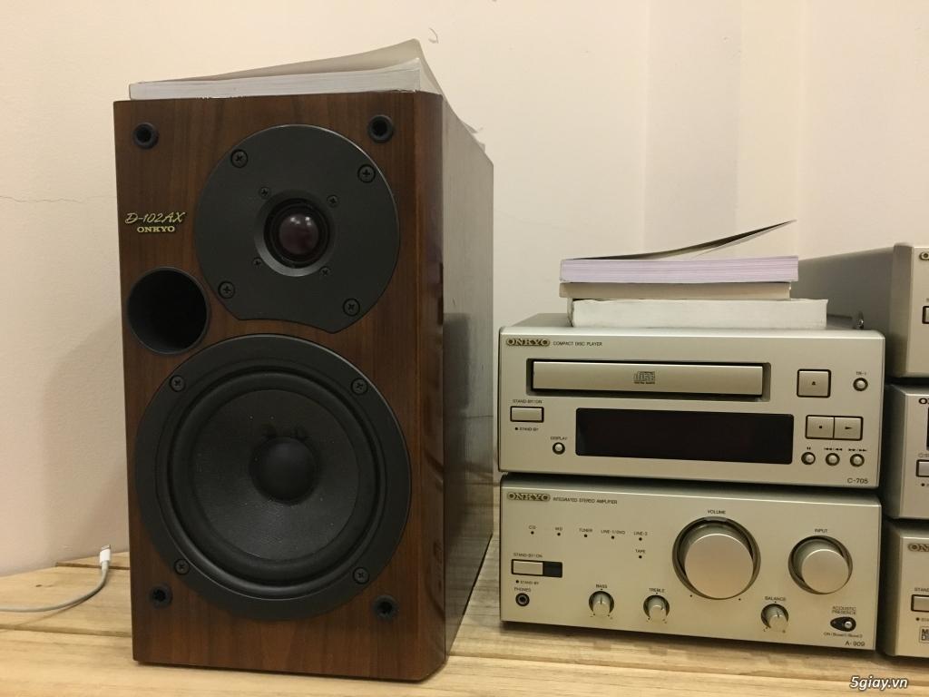 Dàn âm thanh mini Onkyo 909 thanh lý - 1