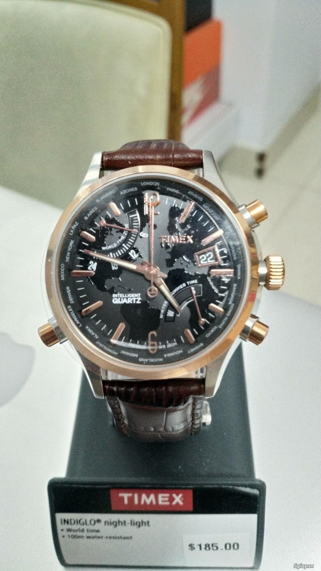 Đồng hồ nam hiệu Timex chính hãng xách tay từ Mỹ - 2