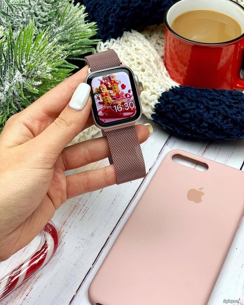 Dây đồng hồ apple watch Milanese Loop - 16