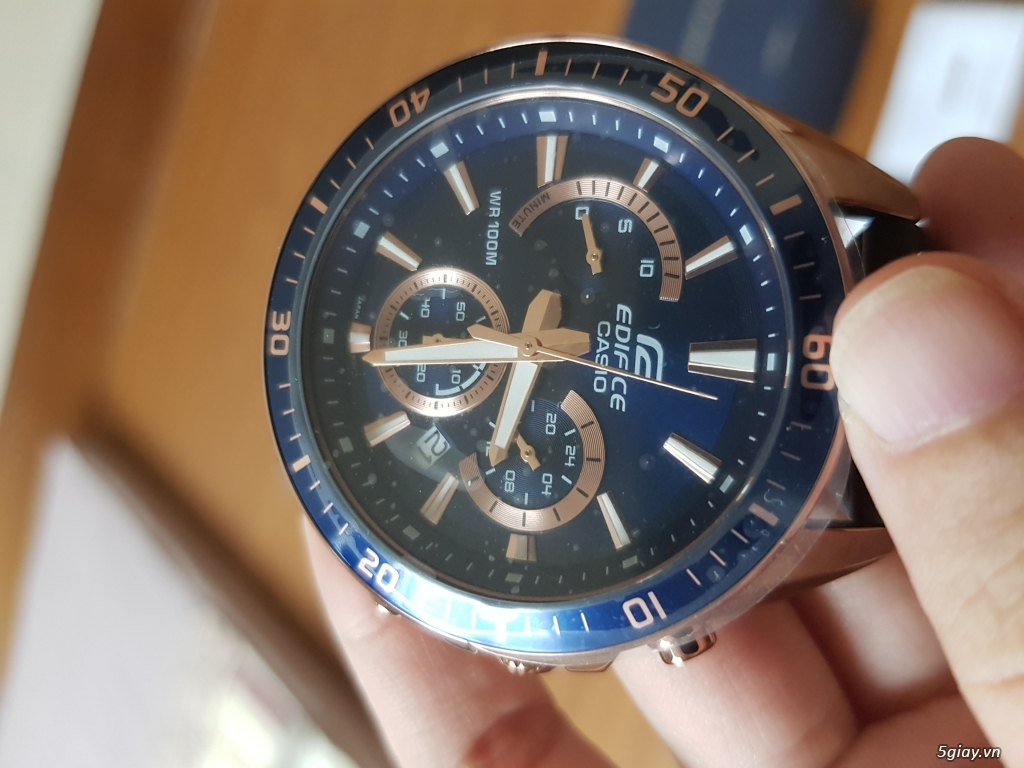Đồng hồ Nam - CASIO Edifice EFR-552GL-2AV- New 100% Fullbox, giá rẻ - 3