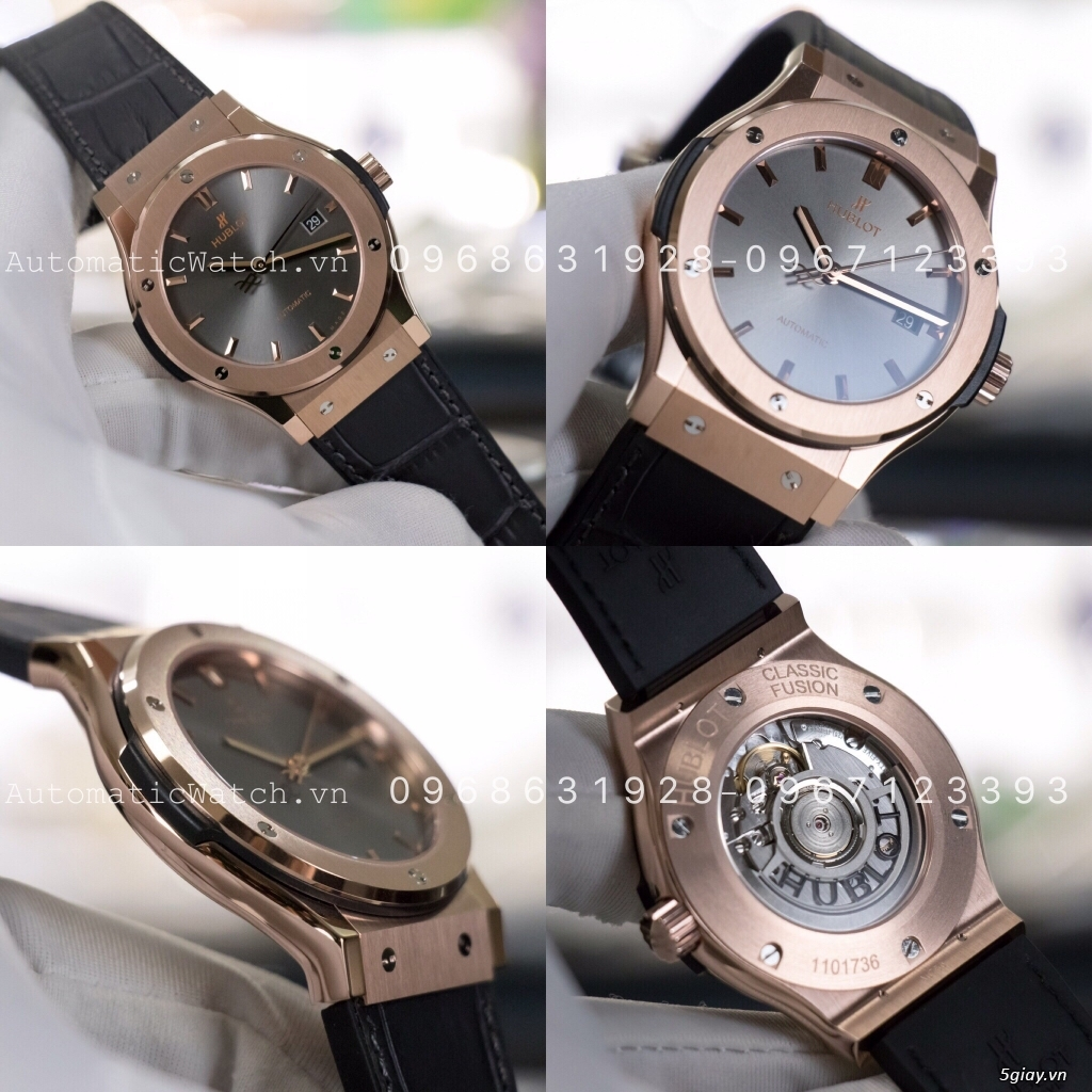 Chuyên đồng hồ Rolex, Omega, Hublot, Patek, JL, Bregue ,Cartier..REPLICA 1:1 AutomaticWatch.vn - 43