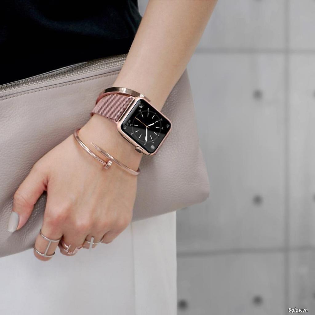 Dây đồng hồ apple watch Milanese Loop - 14