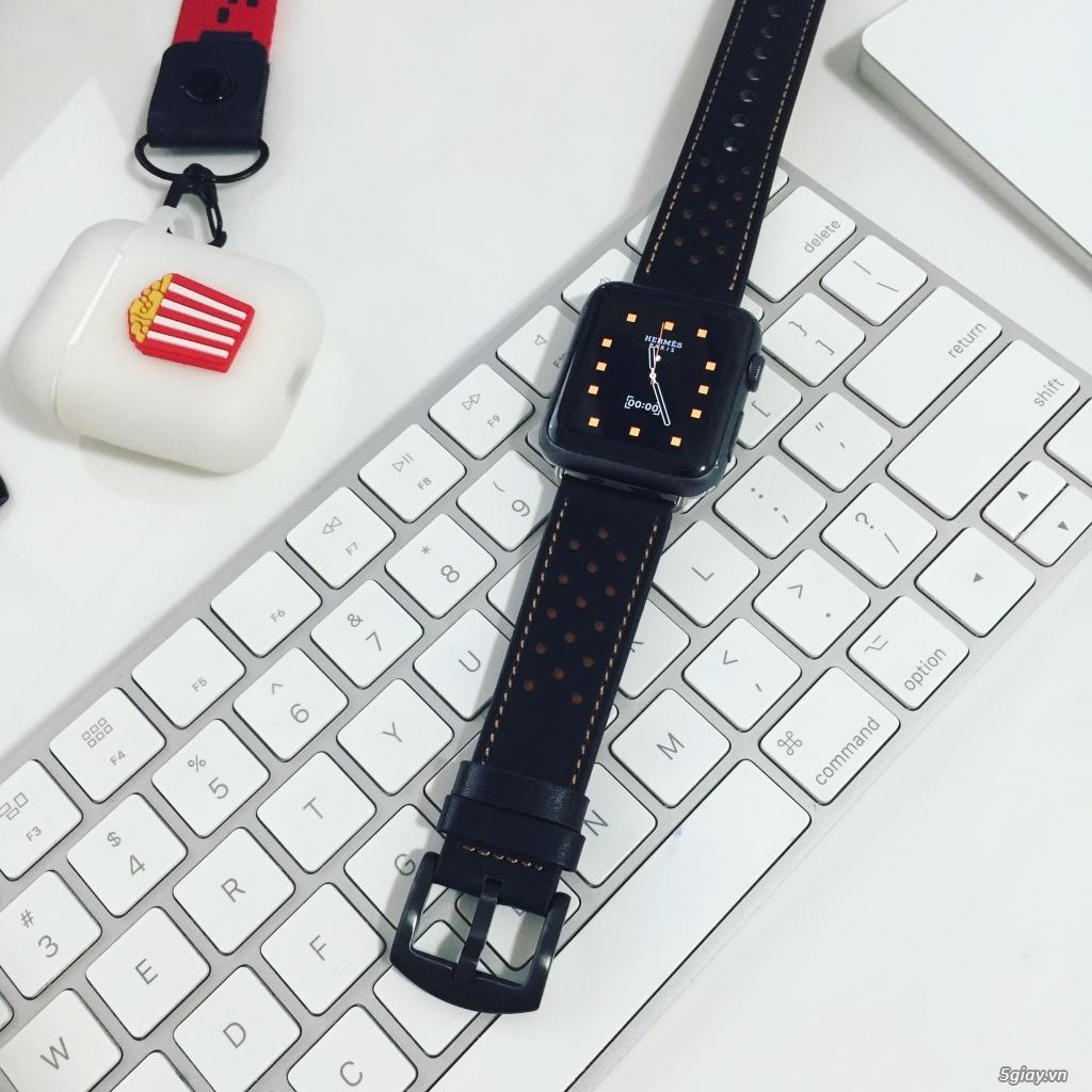 Dây đồng hồ apple watch Milanese Loop - 24