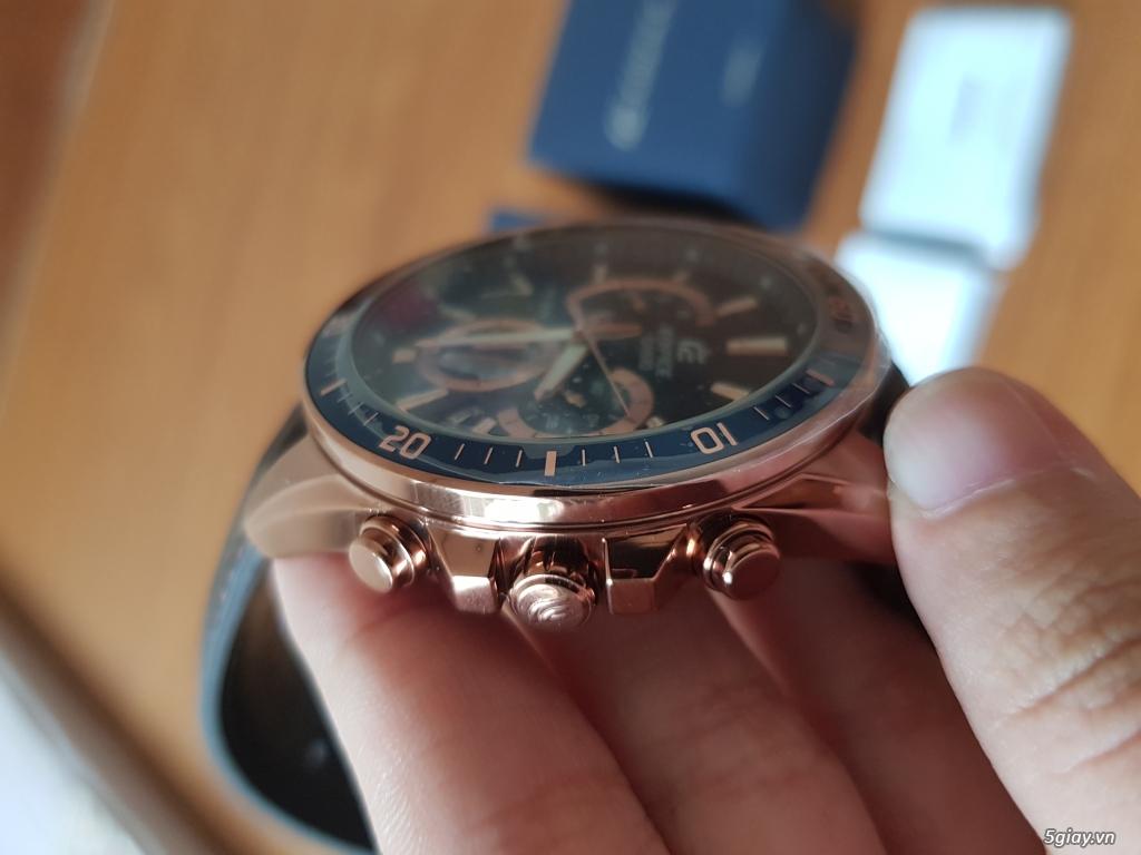 Đồng hồ Nam - CASIO Edifice EFR-552GL-2AV- New 100% Fullbox, giá rẻ - 1