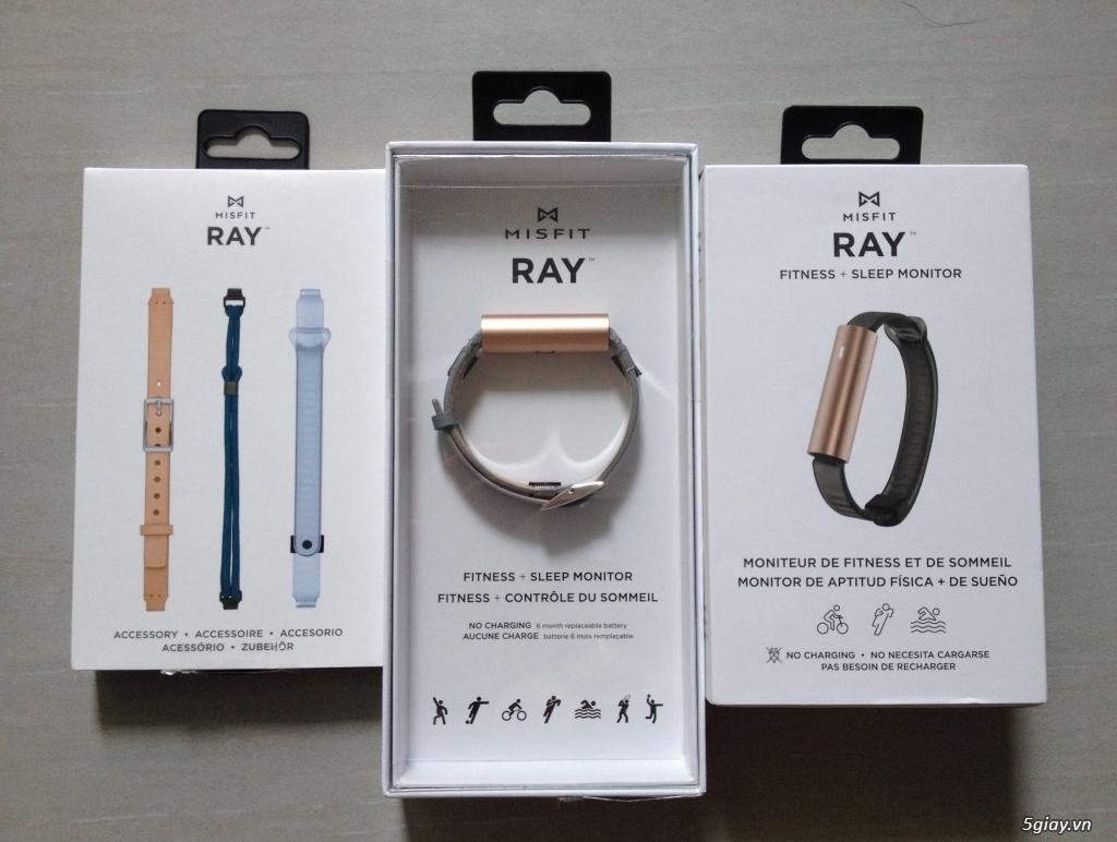 Cần bán: Misfit ray + dây đeo