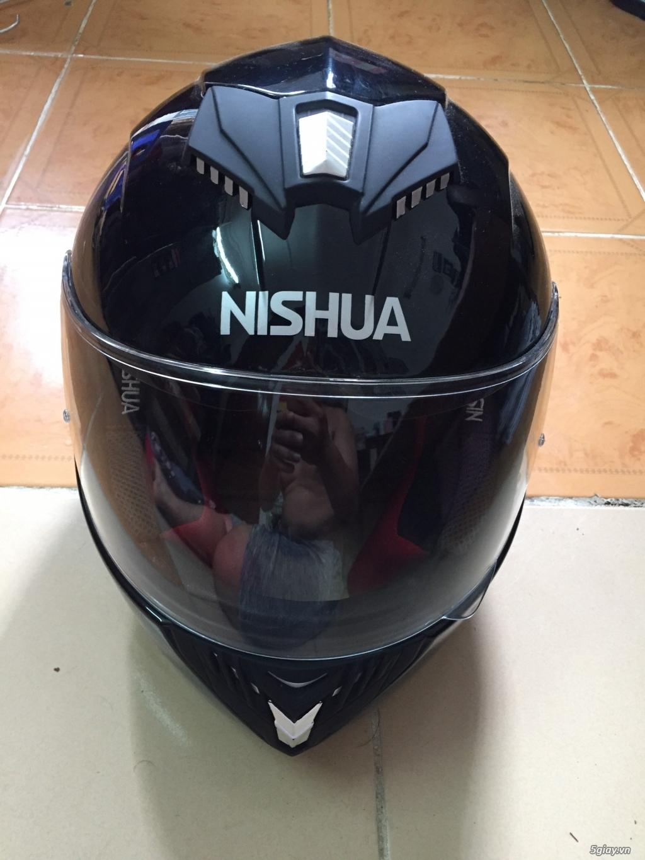 Nón bảo hiểm fullface xách tay Đức Nishua ntx3 - 2