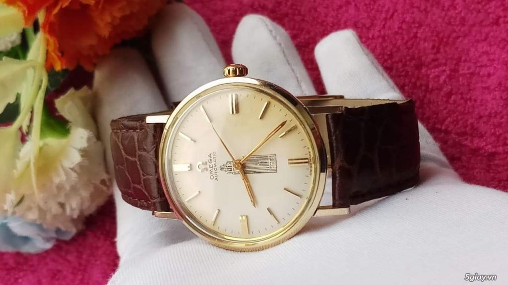 Đồng Hồ Vàng Omega Vintage dòng Seamaster