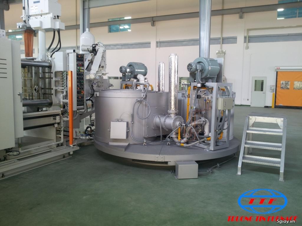 Lò Nung Nhôm Dạng Nồi Gas 600kg - 3