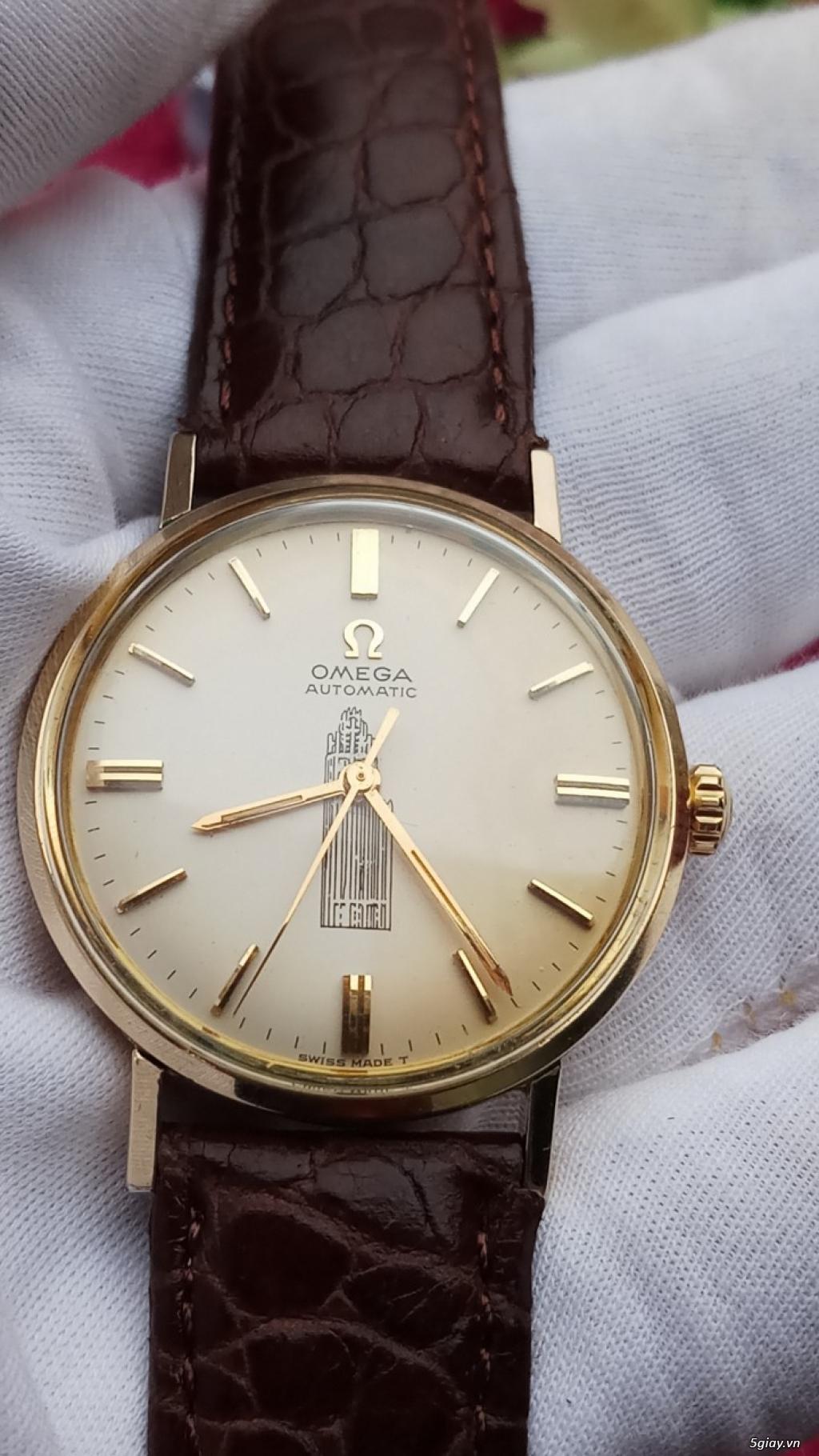 Đồng Hồ Vàng Omega Vintage dòng Seamaster - 2