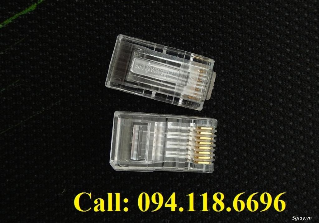 Đầu bấm hạt mạng RJ45 Cat6 Commscope mã 5-554720-3 có sẵn hàng - 2